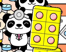 パンダのお医者さん